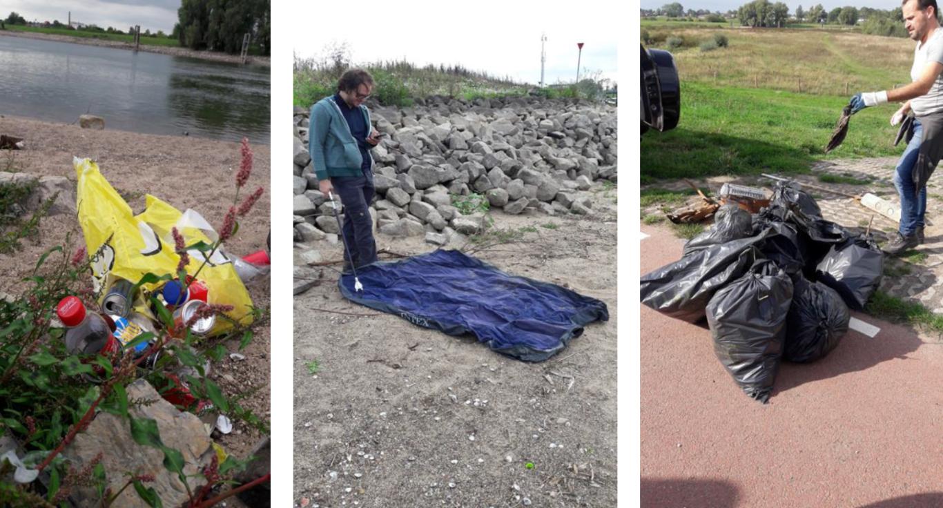 Amcor maakt landtong Marshaven schoon