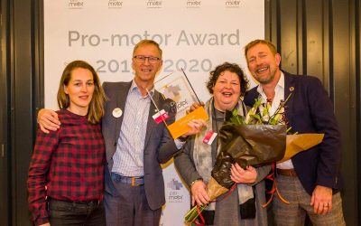 Cleantech Center wint Pro-motor Award 2020