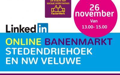 26 november: online banenmarkt