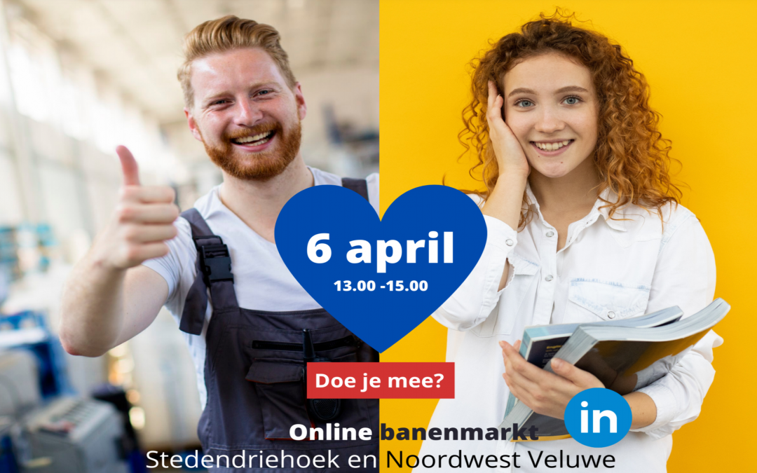 6 april: Online banenmarkt